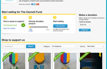 Now Buy and Sell on eBay to Benefit The Cannoli Fund