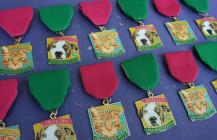 Buy The Cannoli Fund's Spay/Neuter Pets Fiesta 2015 medals now